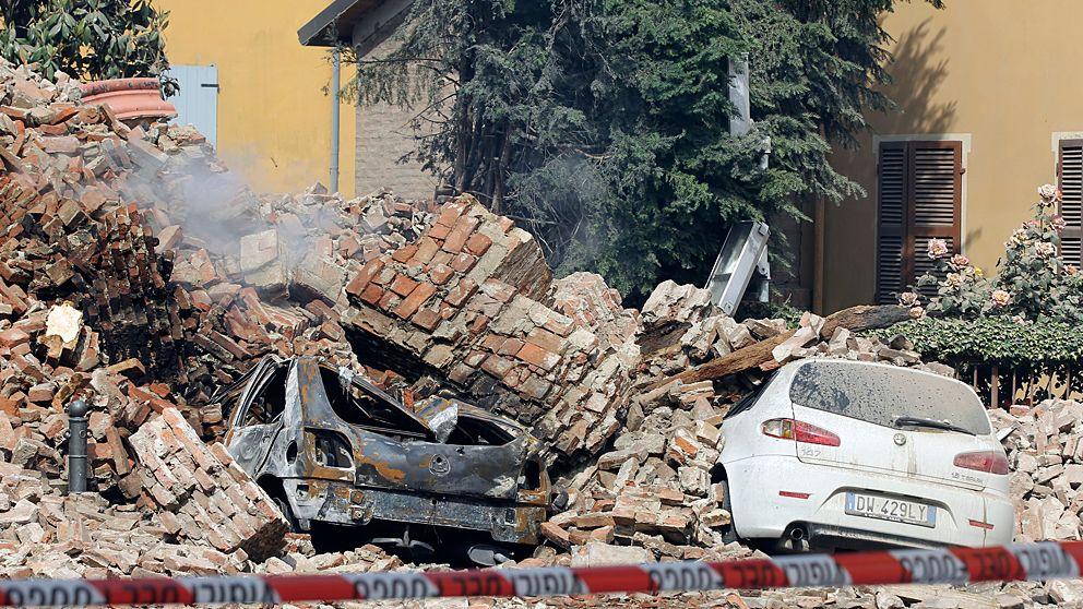 italien jordbävning