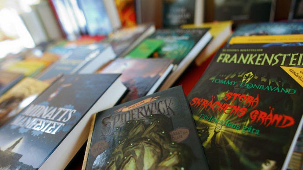Skolbibliotek ska vara en självklarhet för Sveriges elever, men det är det inte. Här syns ungdomsböcker.