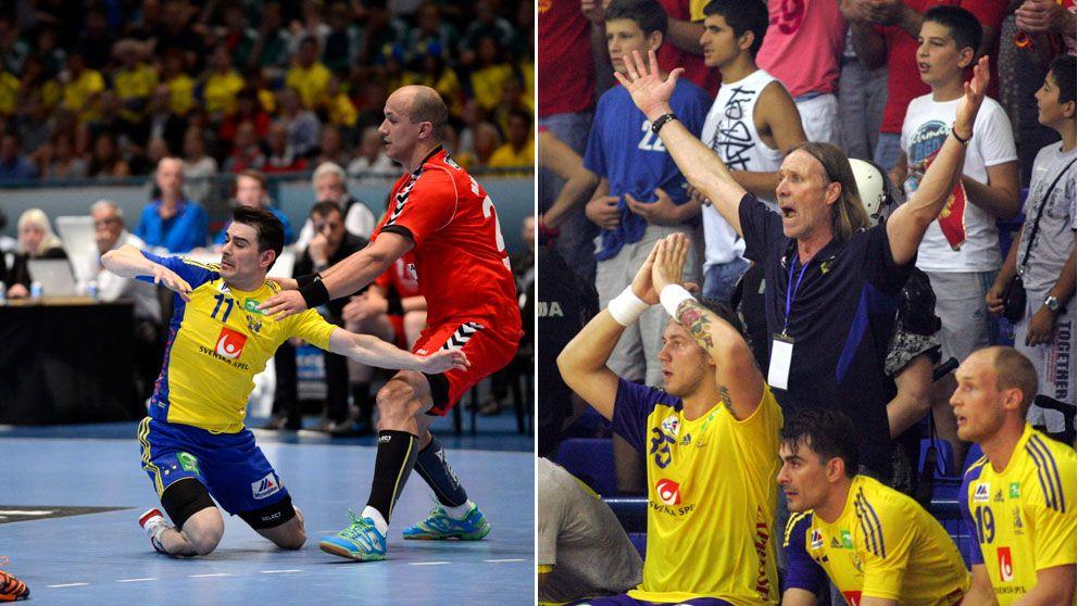 Missa inte sverige spanien i handboll