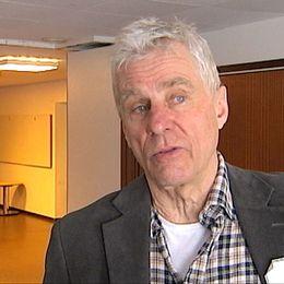 Vargkännaren Olof Liberg verksam på Grimsö forskningsstation. Foto: Scanpix