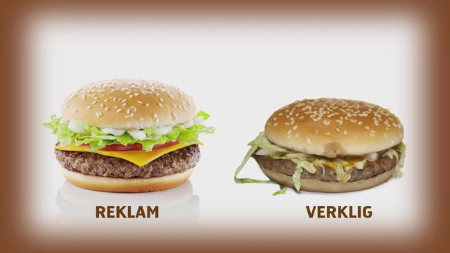 kalorier hamburgare mcdonalds