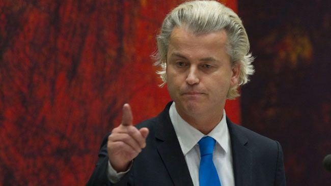 Wilders infor ratta for hatbrott