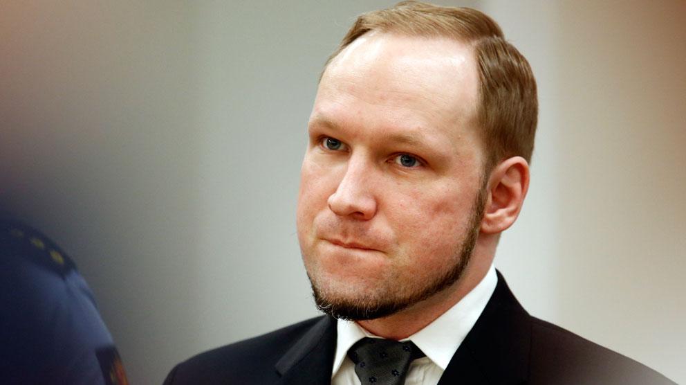 Breivik mer paranoid an tidigare