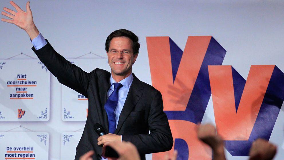 Liberal seger i nederlanderna