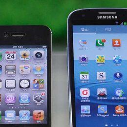 Apple får tio gånger med utrymme fastän Samsung säljer mer.