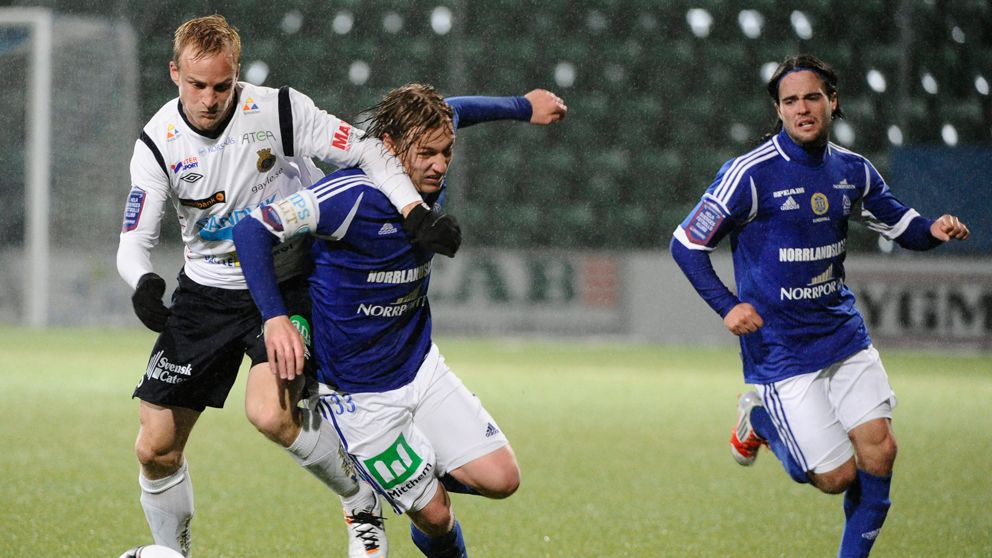Gefle over strecket