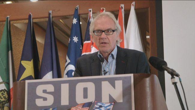 Lars Vilks talade på antimuslimska konferensen Sion i New York