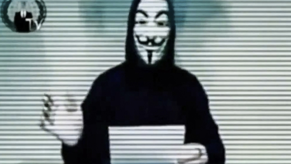 Anonymous vi stangde ner regeringens hemsida