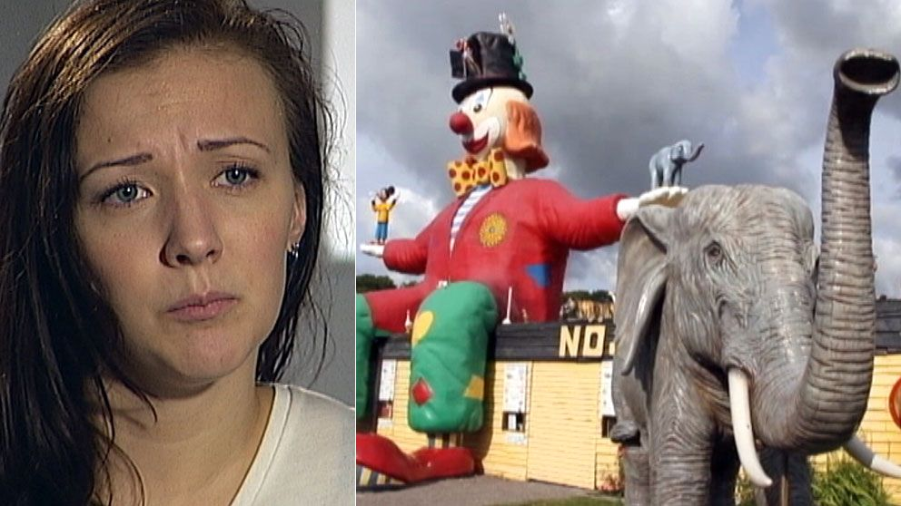 Caroline Ryding från Norrköping blev vittne när en björn slogs ihjäl på Ölands djurpark.Foto: SVT