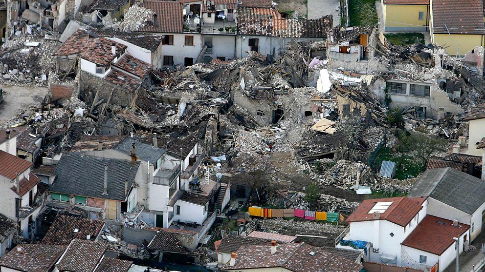 Forskare doms for missad jordbavning