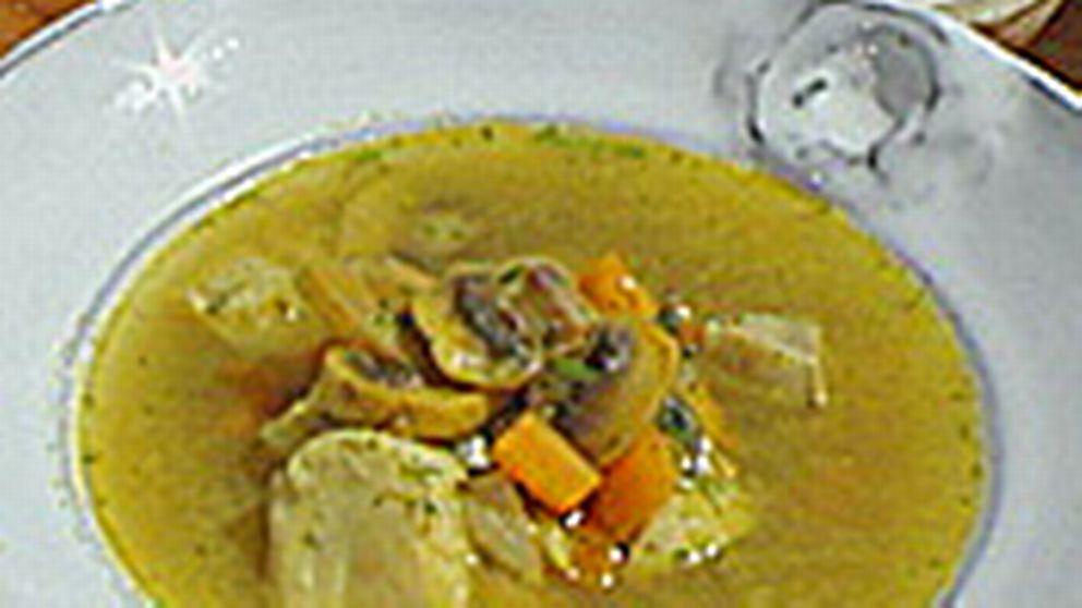 fisksoppa med curry