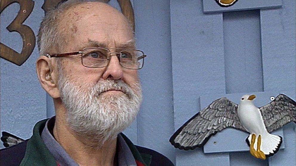 Hans Ersson dödförklarades när hans hustru dog. Foto: SVT