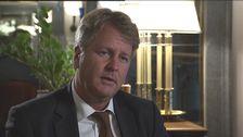 """Lars Carlström blev uppmanad att """"släppa"""" Saab."""