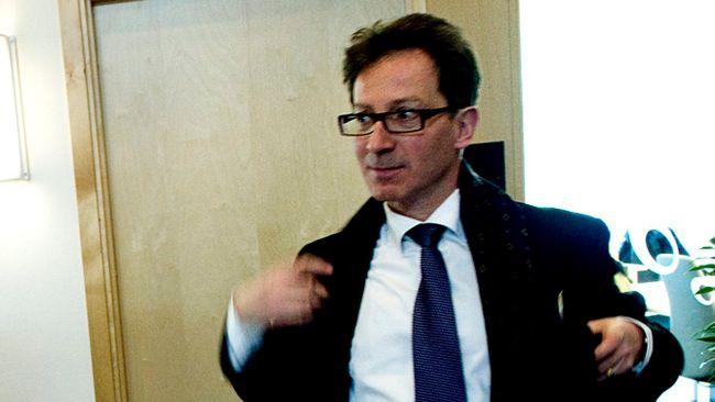 Hans Lindblad, statssekreterare på finansdepartementet.