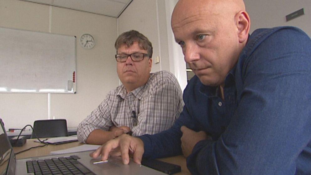 Magnus Svenungsson och Michael Syrén