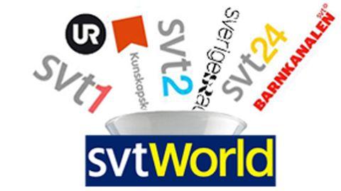 SVT World är en mix av SVT:s kanaler.