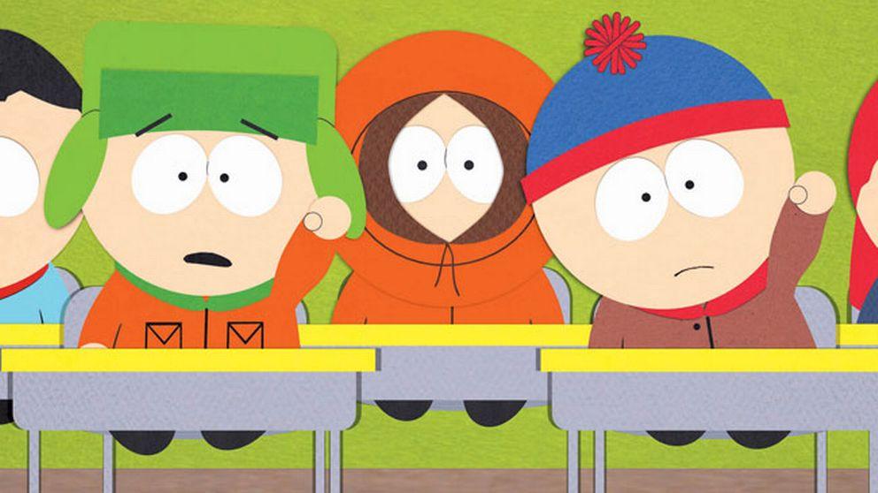 """Huvudkaraktärerna i """"South Park""""."""