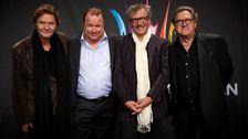 Tommy Körberg, Claes Malmberg, Johan Rabaeus, Mats Ronander.
