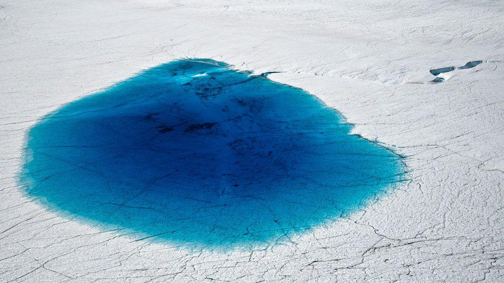 De stora landisarna över Grönland och Antarktis smälter och ger nu en havnivåhöjning på en millimeter om året. Det visar den största undersökningen hittills.