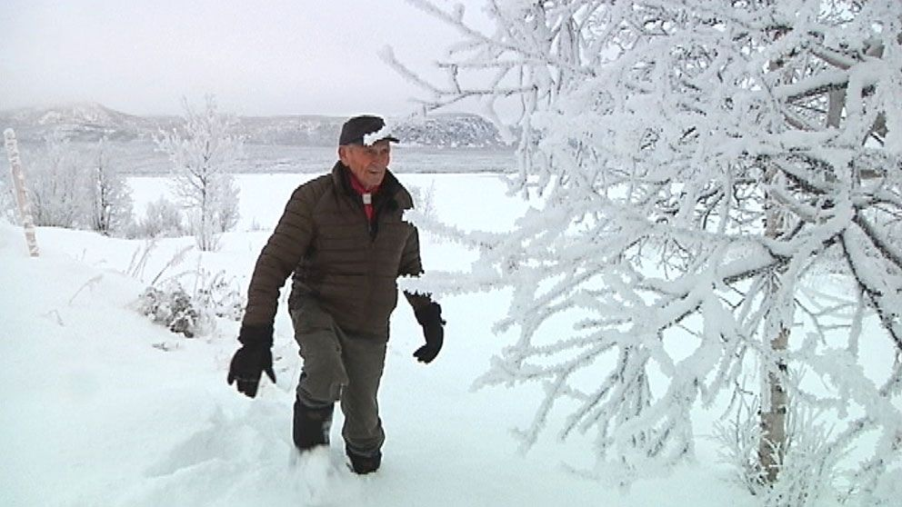 Väderspåmannen Henrik Sarri vågar inte spå vädret längre på grund av klimatförändringar.