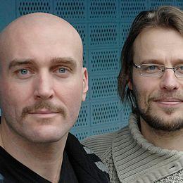 Joachim Dyfvermark och Sven Bergman