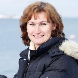Deckarförfattaren (och juristen) Viveca Sten.