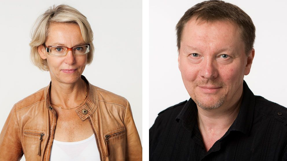 Ylva M Andersson ansvarig utgivare SR Göteborg och Björn Löfdahl, programdirektör SR.