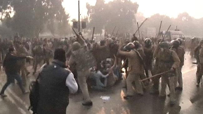 Protestforbud efter gruppvaldtakt