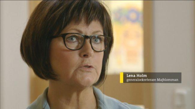 Majblommans missvisande statistik beror på ett metodfel, säger generalsekreterare Lena Holm.