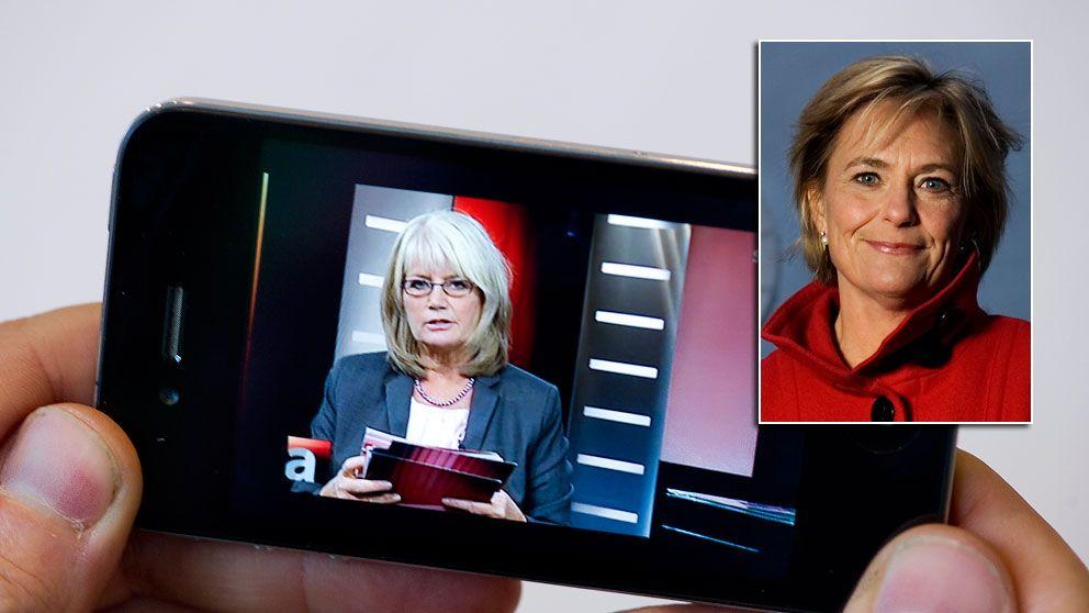 Eva Hamilton, SVT:s vd
