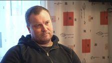 """Niklas Gotthardsson, vd på Skogsnicke AB, menar att hoten mot sina anställda bara var en """"fyllegrej""""."""