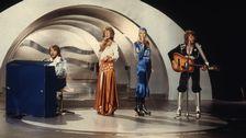 """ABBA vann Eurovision 1974 med """"Waterloo""""."""