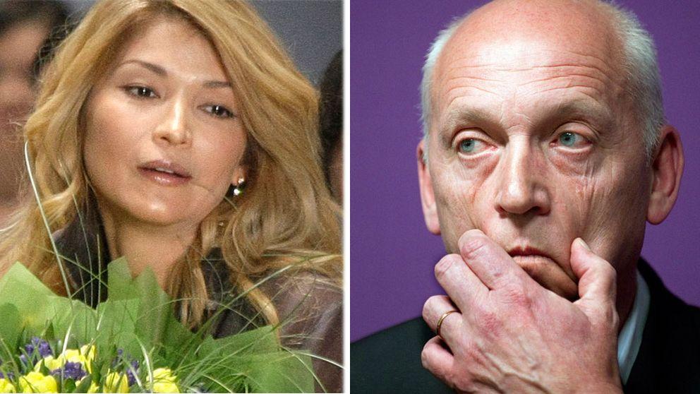 Diktatorns dotter Gulnara Karimova och vd Lars Nyberg – två tunga spelare i Teliasoneraaffären