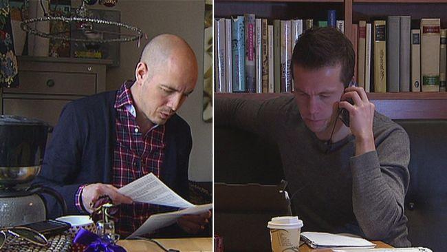 Chatt med reportrarna Nicke Nordmark och Hasse Johansson