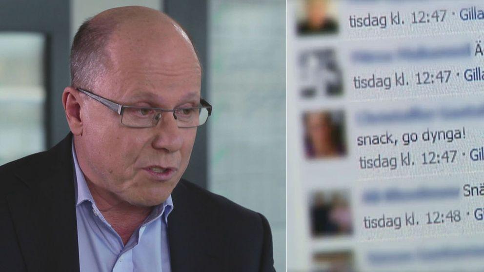 Nils Hanson, ansvarig utgivare Uppdrag granskning