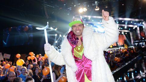 Sean Banans segerpromenad efter att han, trots skadan, gjort ett felfritt framträdande och gått direkt till final.