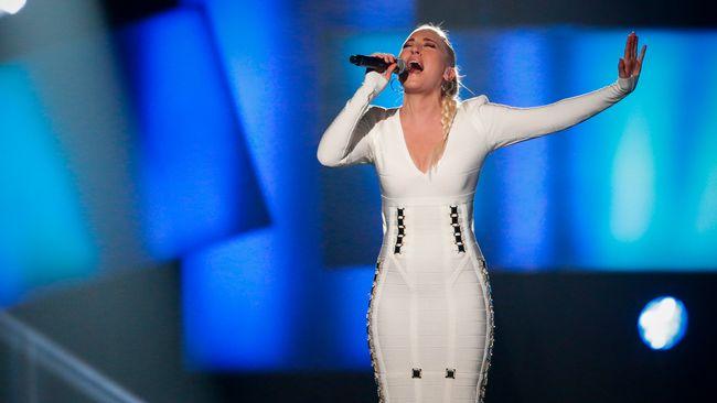 Margaret Berger framför låten