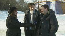 Anna Olsdotter Arnmar intervjuar Johar Bendjelloul och Roger Wilson om Searching for Sugar Man.