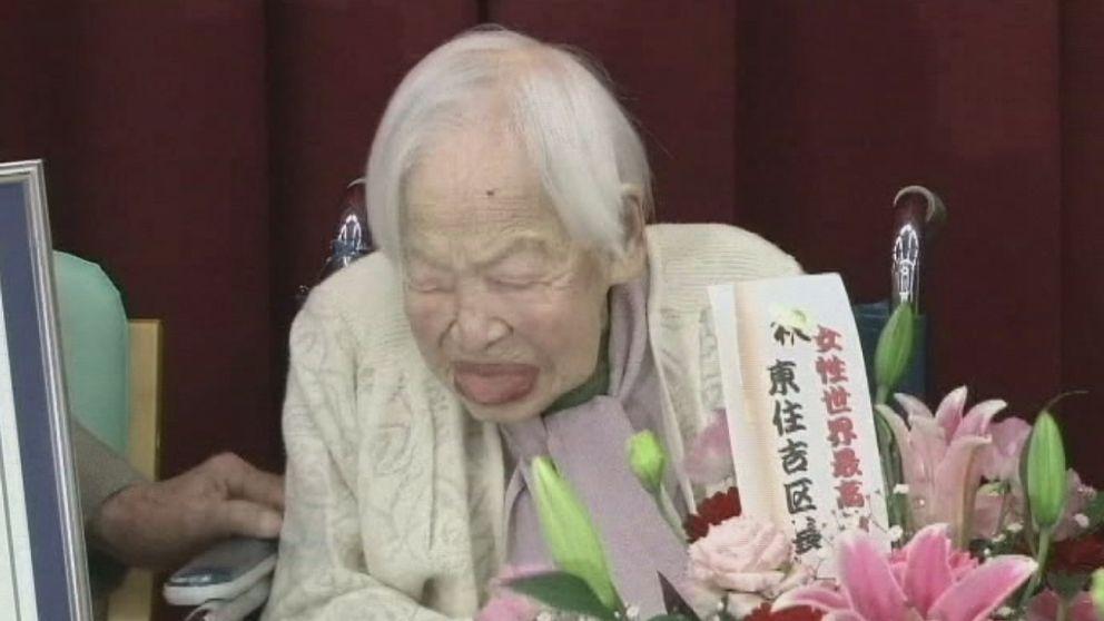 världens äldsta kvinna