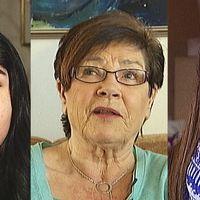 Nazanin Nourbakht, Irene Drangel och Ellen Wahlqvist.