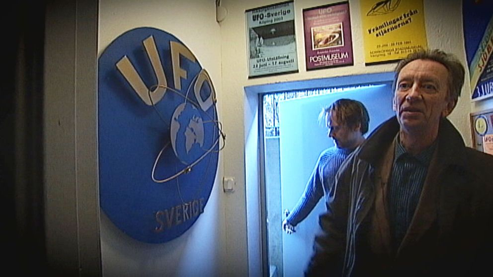 Håkan Blomqvist var med och startade UFO-arkivet för 40 år sedan.
