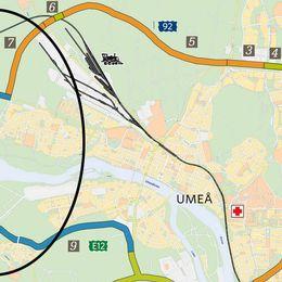 Umeås nya vägar. Västra länken fortfarande omstridd
