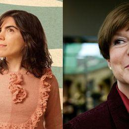 """Marisol Misenta (""""Isol"""") och Sara Gimbergsson."""
