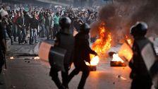 Protester på Tahrir-torget 2011