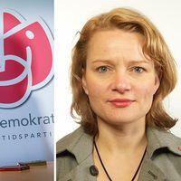 Veronica Palm till vänster, Teres Lindberg till höger.