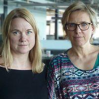 Anna Jaktén och Nadja Yllner.