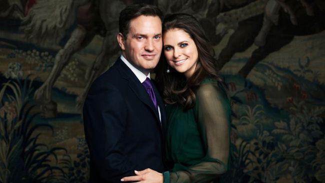 Prinsessan Madeleine och Christopher O'Neill.