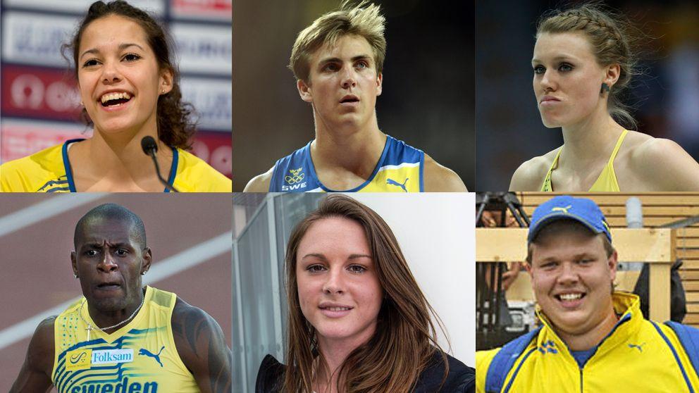 sex svenskar