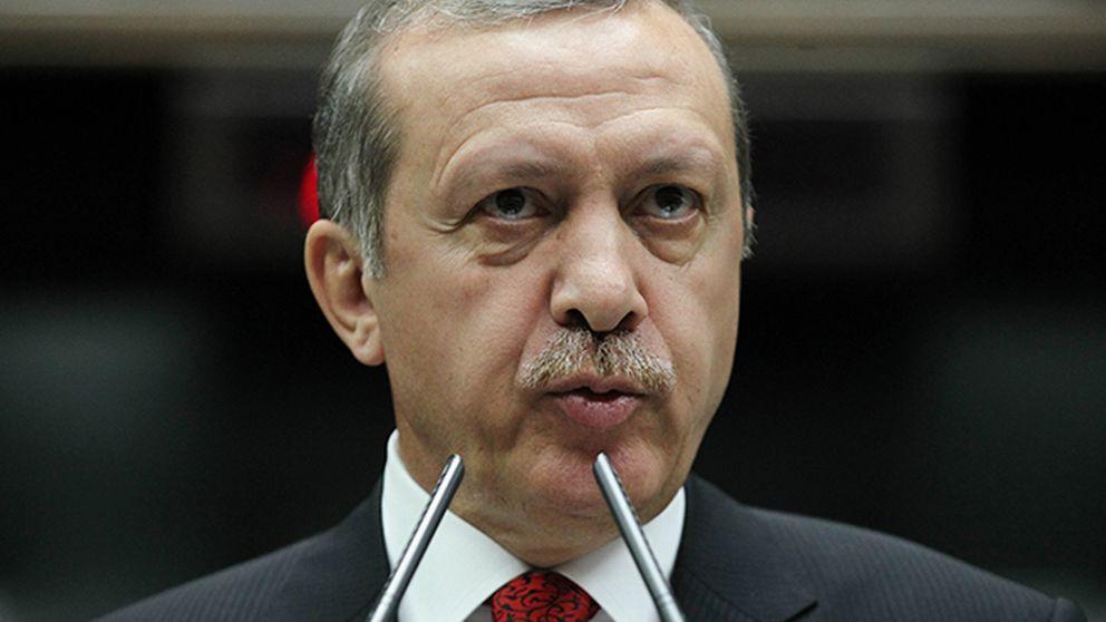 Turkiets premiärminister Recep Tayyip Erdogan.