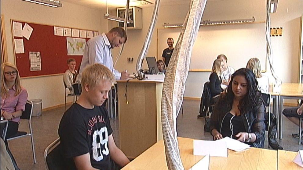 John Bauer-gymnasiet i Eskilstuna Stadsmissionen